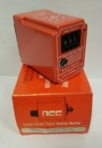 National Controls Corp ncc A1m Series Time Delay Relay A1m 0999m 467