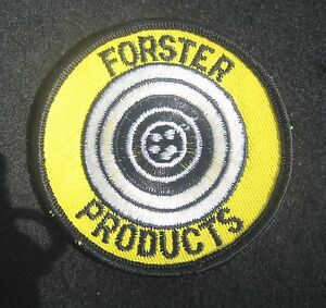 FORSTER  HUNTING PRODUCTS SEW ON PATCH RELOADING AMMUNITION FIREARM TARGET 3
