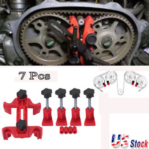Universal 5pcs Cam Camshaft Lock Holder Car Engine Cam Timing Locking Tool Kit