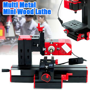 6 In 1 Multi Mini Metal Wood Cnc Lathe Motorized Jig saw Grinder Driller Milling