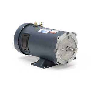 3 4 Hp 1800 Rpm 56c Frame 12 Volts Dc Tefc Leeson Electric Motor 108048