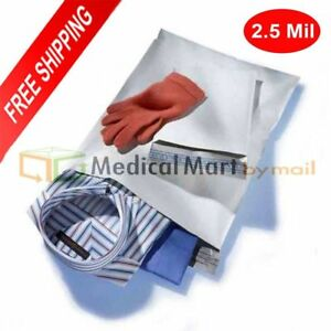 White Poly Mailer 9 X 12 Plastic Envelope Bags 2 5 Mil 24000 Pieces