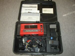 Snap On Mtg2500 Diagnostics Graphing Scanner Accessories Case Manuals Nice