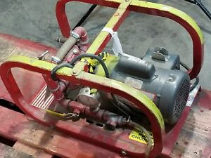 Rice Hydro El Hydrostatic Test Pump 500 Psi 3 Gpm 1 2 Hp