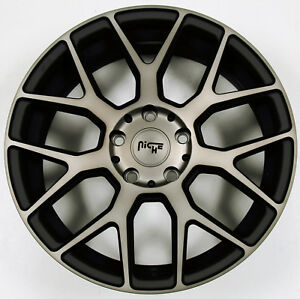 Niche Intake M159 18 X 8 0 Black Rims Wheels For Kia Optima 5x114 3 40