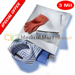 2500 14x19 Poly Mailer Plastic Shipping Mailing Bags Envelope 3 0 Mil