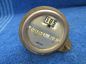 Vintage Ford Model T Stewart Warner Speedometer With Trip Nice Original 118
