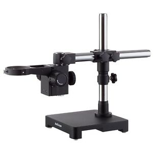 Amscope Sab Sturdy Microscope Single arm Boom Stand With Black Finish