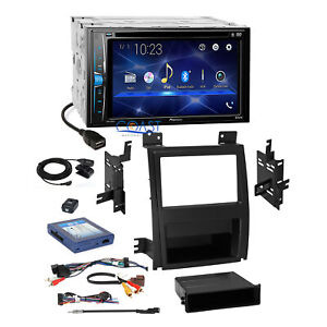 Pioneer 2018 Dvd Stereo 2din Dash Kit Bose Harness For 07 14 Cadillac Escalade