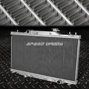 2 Row Aluminum Core Performance Racing Radiator Replacement For 02 06 Acura Rsx