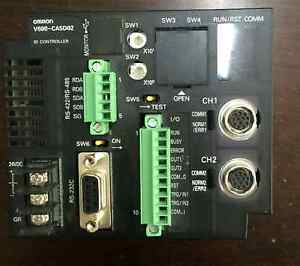Omron Plc V600 ca5d02 Programming Controller Used