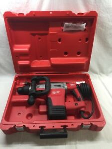 Milwaukee Sds max Corded Demolition Drill 14 Amp New In Opened Case