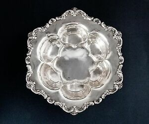 Unique Whiting Sterling Silver Fruit Bowl 10