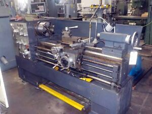 16 25 X 40 Vitor Buono Stl 205 10 Gap Bed Engine Lathe