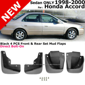 Splash Guards Full Set Front Rear 1998 2000 For Honda Accord Mud Flaps