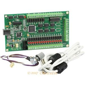 Cnc 3 axis Mach3 Usb Motion Controller Card Module For Carving Machine Usb Port