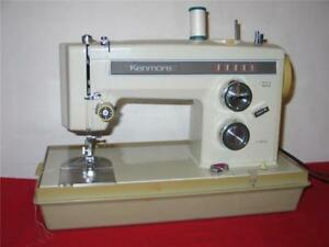 Heavy Duty Kenmore Sewing Machine Model 158 1357 Upholstery All Metal