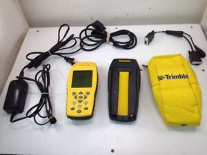 Trimble Geoexplorer 3 38376 00 W Charging Base Power Supply And Case