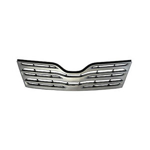 Replacement Upper Grille For 2009 2010 2011 2012 Toyota Venza New