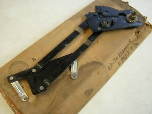 Nos Oem Ford 1949 1950 1951 2 Door Window Regulator Rh Square Post Custom Coupe