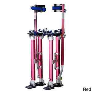 Pentagon Tool 18 To 30 Inch Professional Drywall Stilts Red