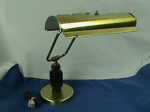 Brass Bankers Lamp Adjustable Piano Lamp Student Desk Lamp