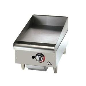 Star 615tf Star max 15 Thermostatic Control Gas Griddle Flat Top Grill