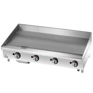 Star 648tf Star max 48 Thermostatic Control Gas Griddle Flat Top Grill