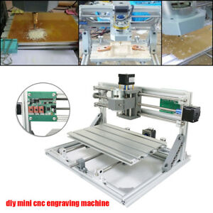 Diy Cnc 3018 Wood Engraving Carving Pcb Milling Machine Router Engraver Set