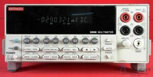Keithley 2000 6 5 Digit Multimeter