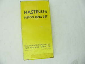 Hastings 40854 020 Moly Piston Rings Set For Amc 6 4l 390 Jeep 401cu Eng V8
