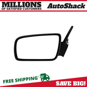 Side View Mirror Power Black Driver For 2005 2009 Ford Mustang 4 0l 4 6l 5 4l V6