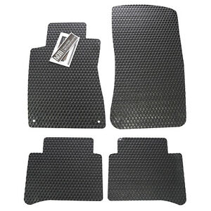 Alfa Romeo Giulia All Weather Rubber Floor Mats Custom Fit Custom Colors