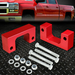 For 2007 2017 Silverado Sierra 1500 Red 2 5 Front Low Mount Leveling Lift Kit