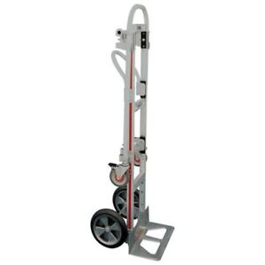 Gemini Sr Convertible Hand Truck With One Brake And Solid Tires