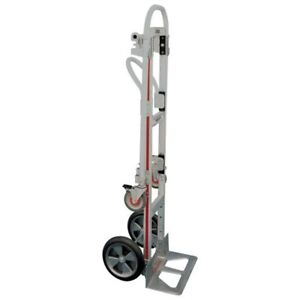 Gemini Sr Hand Truck By Magline With Swivel Caster And Brake Kit