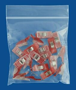 Mini Clear Reclosable Bags 4 Mil 4 X 4 Bead Plastic Storage 12000 Pieces