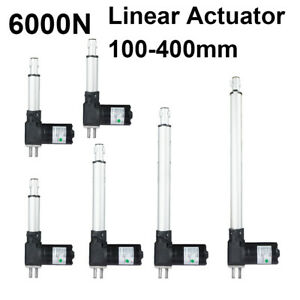 New High Speed 12v Dc Linear Actuator 4000n Max 407kg Force Low Noise Piston