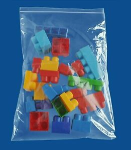 14 x24 Clear Reclosable Bag 4 Mil Thick Small Plastic Poly Bags 1500 Baggies