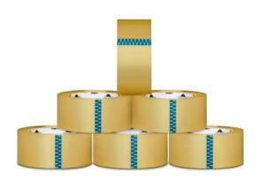 324 Rolls Clear Hotmelt Carton Sealing Packing Tape 2 Inch X 110 Yards 1 9 Mil