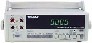 Tenma 72 410a Digital Multimeter