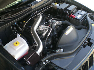 All Black For 2005 2010 Jeep Grand Cherokee Commander 3 7l V6 Long Air Intake