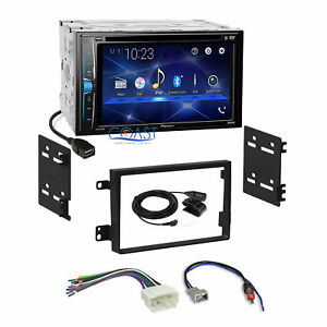 Pioneer 2018 Dvd Bluetooth 2din Dash Kit Harness For 07 11 Honda Element Ex Sc