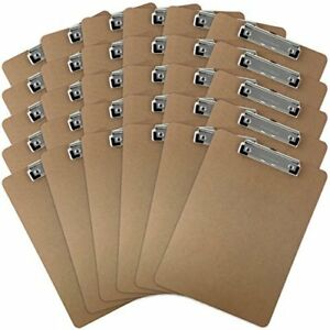 Memo Size 6 x9 Clipboard With High Capacity Clip Case Of 24 Earth Friendly And