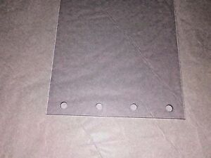 12 Perforated Strips Each Strip 8 Inches Wide X 108 Inches Long X 80mil Thick