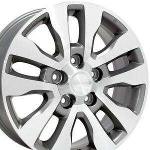 20 Wheels For Toyota Land Cruiser Sequoia Tundra 20x8 Inch Rims Set 4