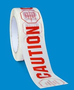 2 Mil Caution Printed Warning Signs Safety Ribbon Tape 2 X 110 Yds 252 Rolls