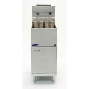 Pitco 45c ss Stainless Steel Economy 50 Lb Gas Fryer