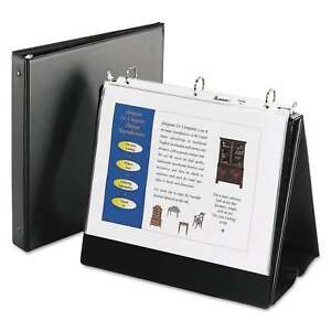 Avery Easel Presentation Durable Binder 1 Inches Round Rings Holds 11 X 8 1 2