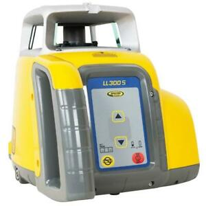 Spectra Ll300s 5 Self leveling Rechargeable Laser Level Kit W cut fill Rod